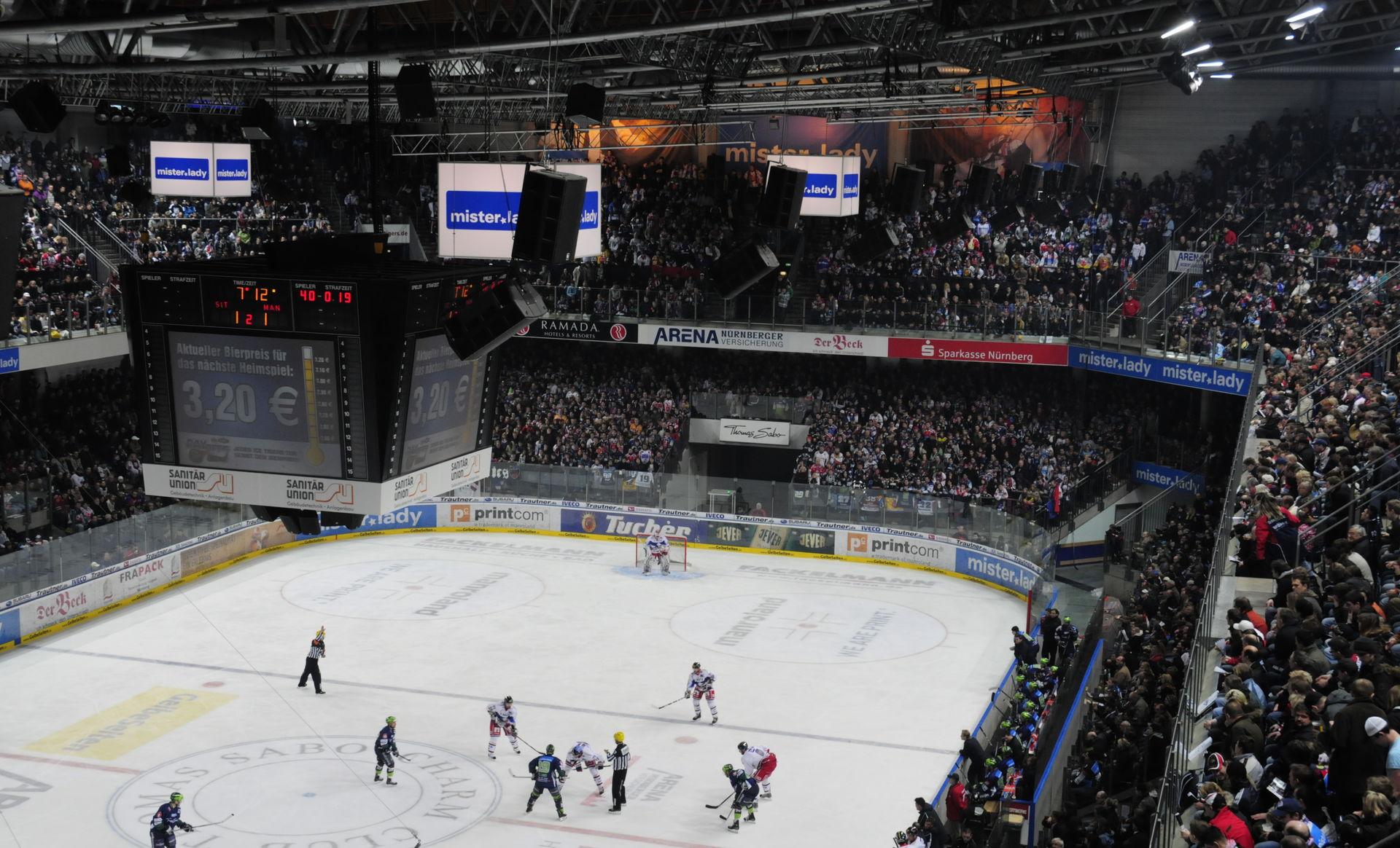 quat rosenberg Ice arena Nuremberg